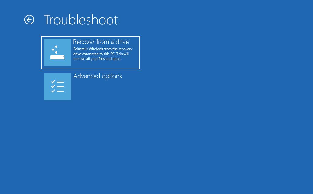 Hướng dẫn tạo thiết bị phục hồi máy tính trong Windows 10 - Ảnh 11
