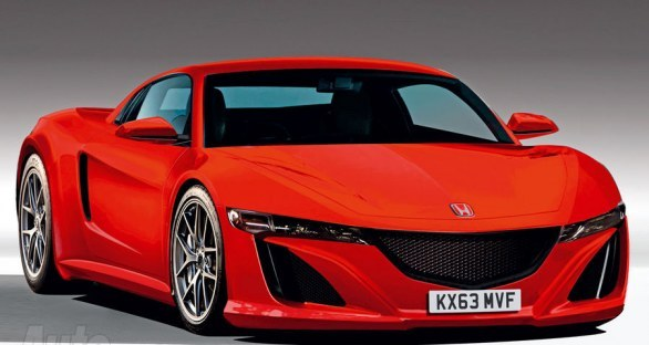 Garage Car: Future Acura/Honda NSX 2013 first live photos ...