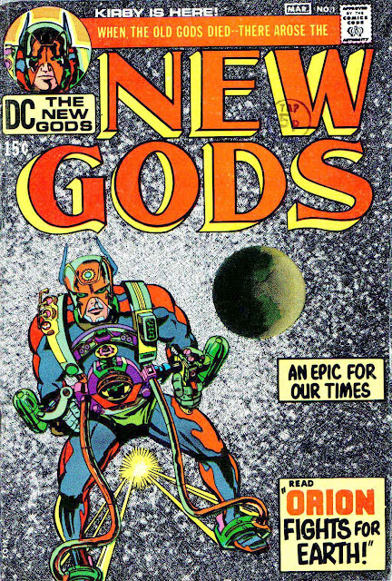 New Gods v1 #1 dc bronze age comic book cover art by Jack Kirby