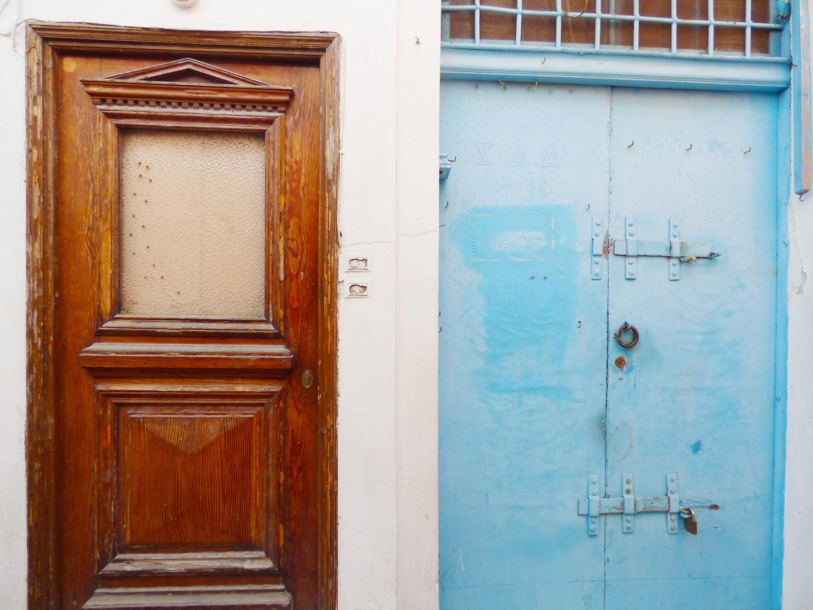 A\u0027door\u0027able doors. & Fira Santorini Greece | Paige Taylor Evans