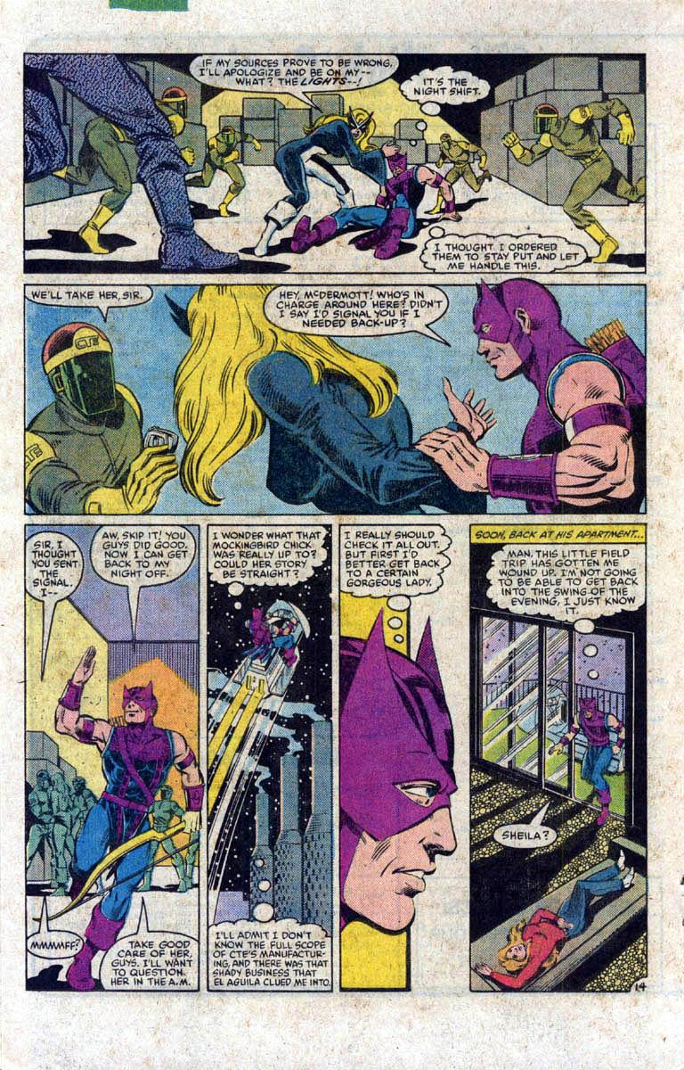 Hawkeye (1983) Issue #1 #1 - English 15