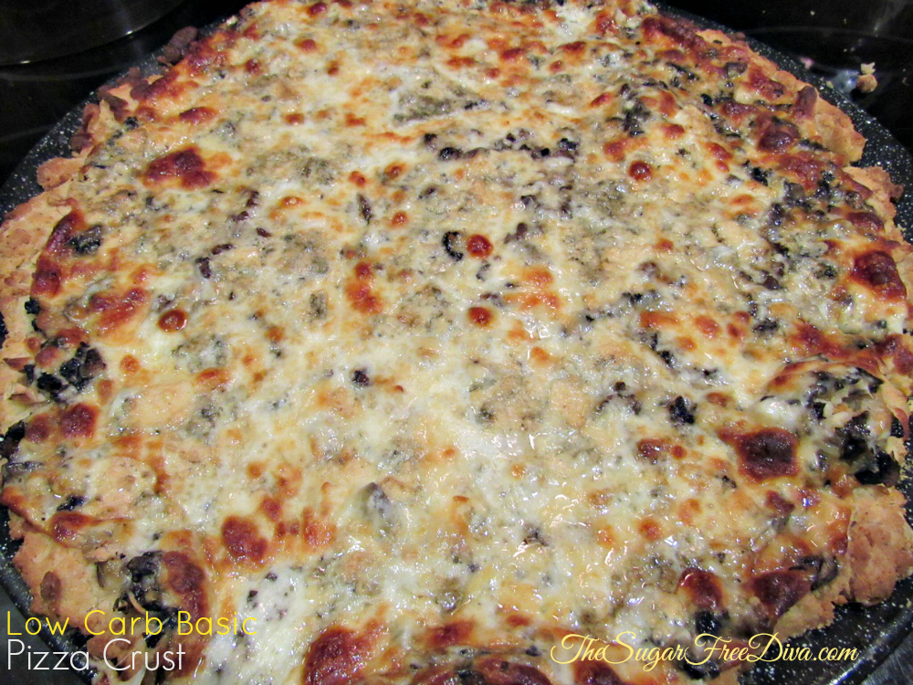 Low Carb Basic Pizza Crust