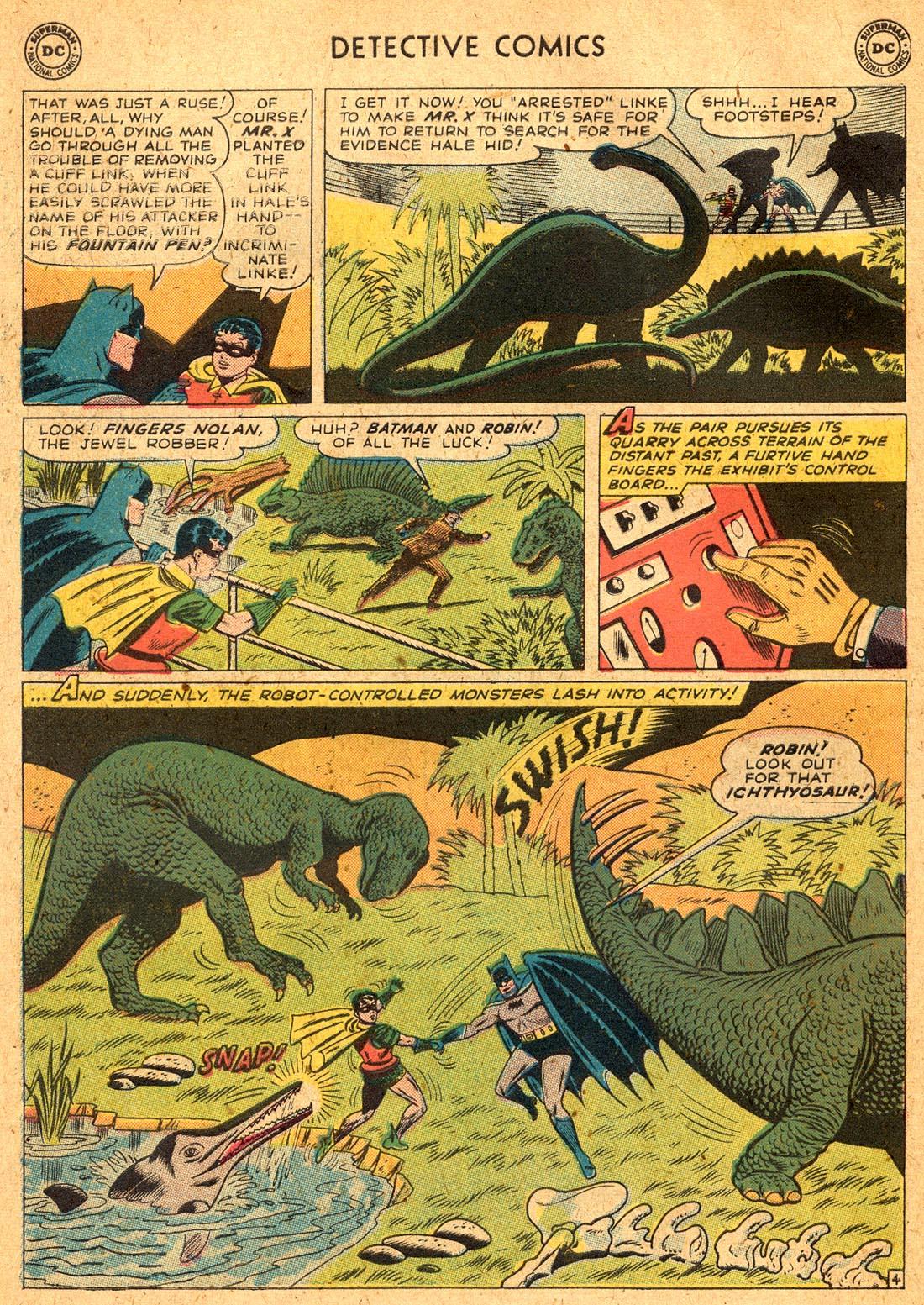 Read online Detective Comics (1937) comic -  Issue #255 - 6