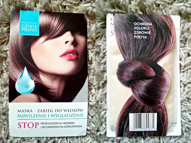 Czyste Piękno - Maska do włosów - Nawilżenie i wygładzenie, opakowanie