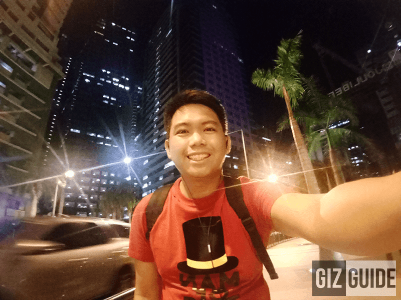 Wide angle mode in lowlight