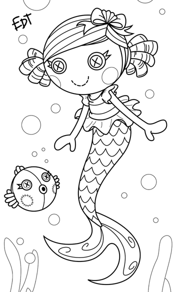 lala oopsies coloring pages   Lala Oopsies Coloring Pages