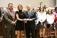 Montgomery Catholic Cross Country Teams Honored by Mayor Strange 3