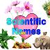 All Scientific Names In Hindi - वैज्ञानिक नाम हिंदी में