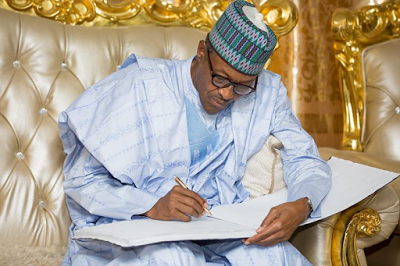 File Photo of President Buhari