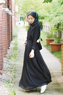 baju coklat tua cocok dengan jilbab warna apa