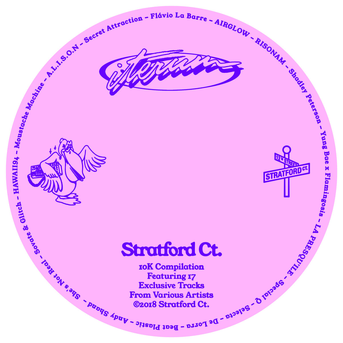 Stratford Ct. - Iterum | Die Future Funk - Nudisco - French House Compilation im Full Album Stream