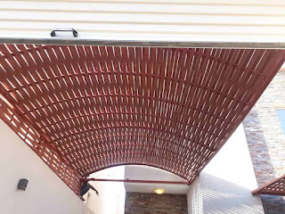 تركيب مظلات منازل باشكال جميلة واسعار مناسبة