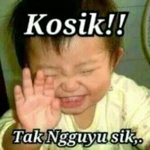 Gambar lucu Bahasa Jawa 3