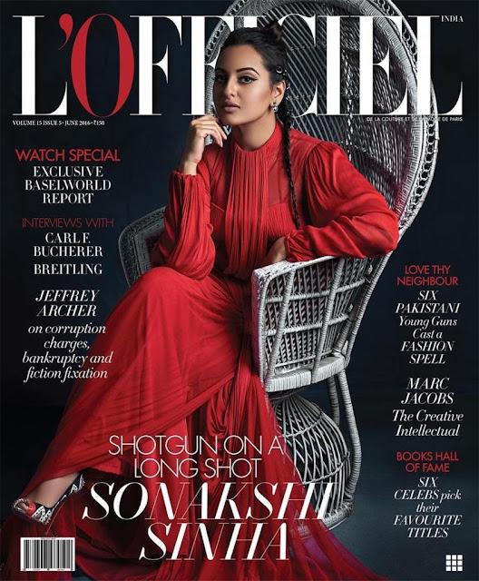 Sonakshi Sinha Magazine June