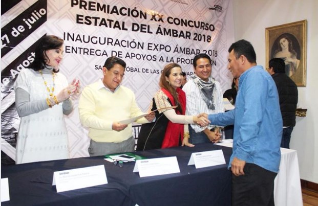 SE INAUGURA LA EDICIÓN 2018 DE LA EXPO-ÁMBAR EN SAN CRISTÓBAL DE LAS CASAS.