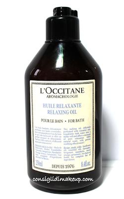 Review: Olio da Bagno rilassante Aromachologie - L'Occitane