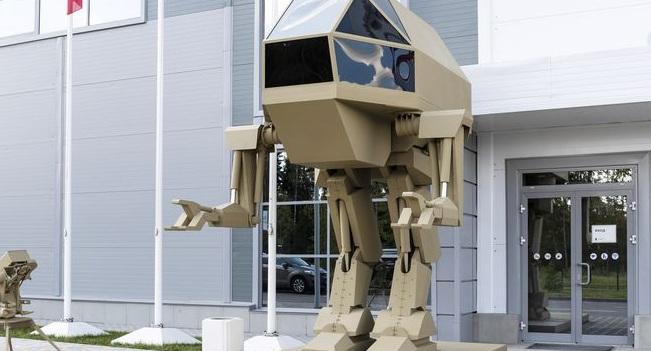 Η Kalashnikov παρουσίασε ρομπότ βγαλμένο από ταινία επιστημονικής φαντασίας