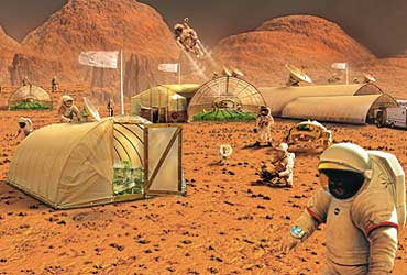 We could be living on Mars 'within decades': Nasa