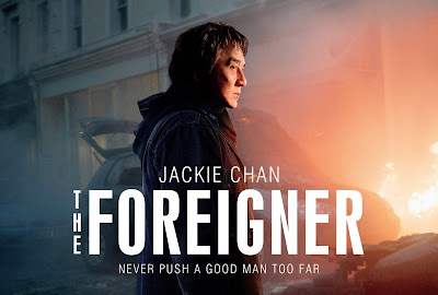 The Foreigner, English Movie, English Film, Movie, Film, Movie Review, The Foreigner Review, 2017, Sinopsis The Foreigner, English Movie Review, Review By Miss Banu, Blog Miss Banu Story, The Foreigner Cast, Senarai Pelakon Filem The Foreigner, Jackie Chan, Pierce Brosnan, Charlie Murphy, Orla Brady, Katie Leung, Ray Fearon, Rory Fleck Bryne, Filem Orang Putih, Filem Barat, Hollywood, Hollywood Movie, Action Thriller, Suspen, Poster The Foreigner,