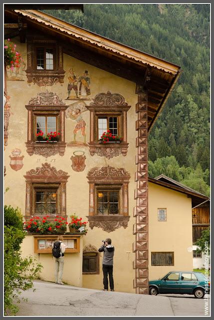 Oetz. Valle de Otzal (Austria)