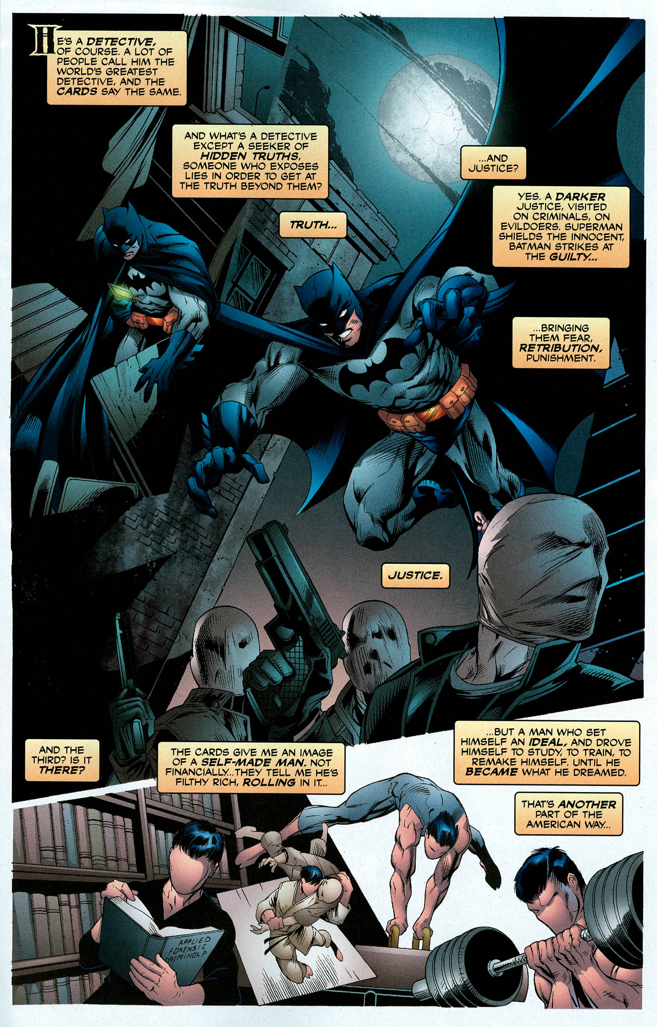 Read online Trinity (2008) comic -  Issue #6 - 16