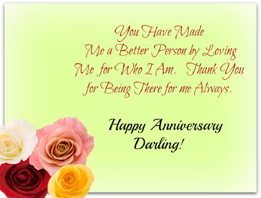 Anniversary quotes for husband happy