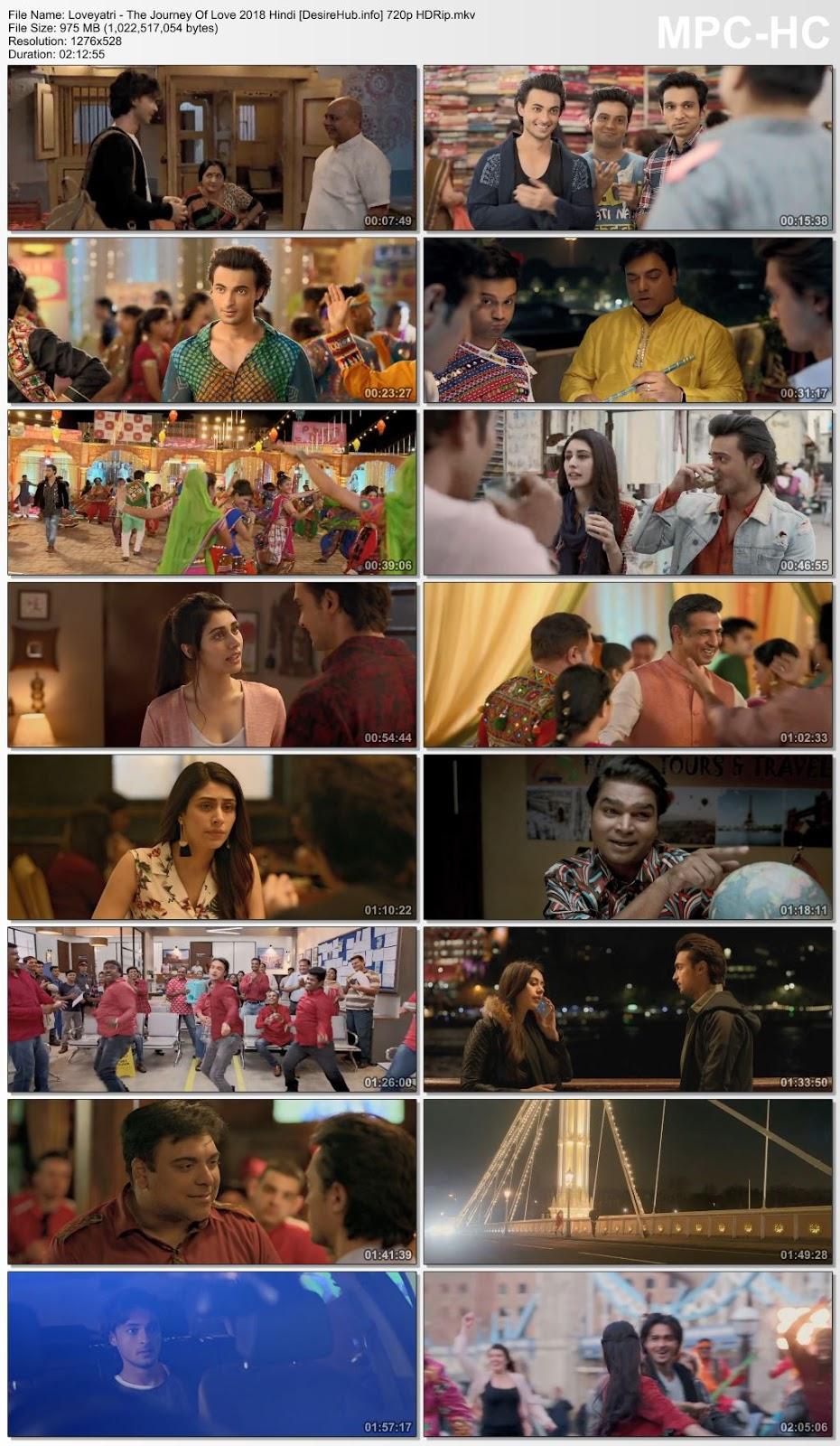 Loveyatri – The Journey Of Love 2018 Hindi 480p HDRip 350MB Desirehub