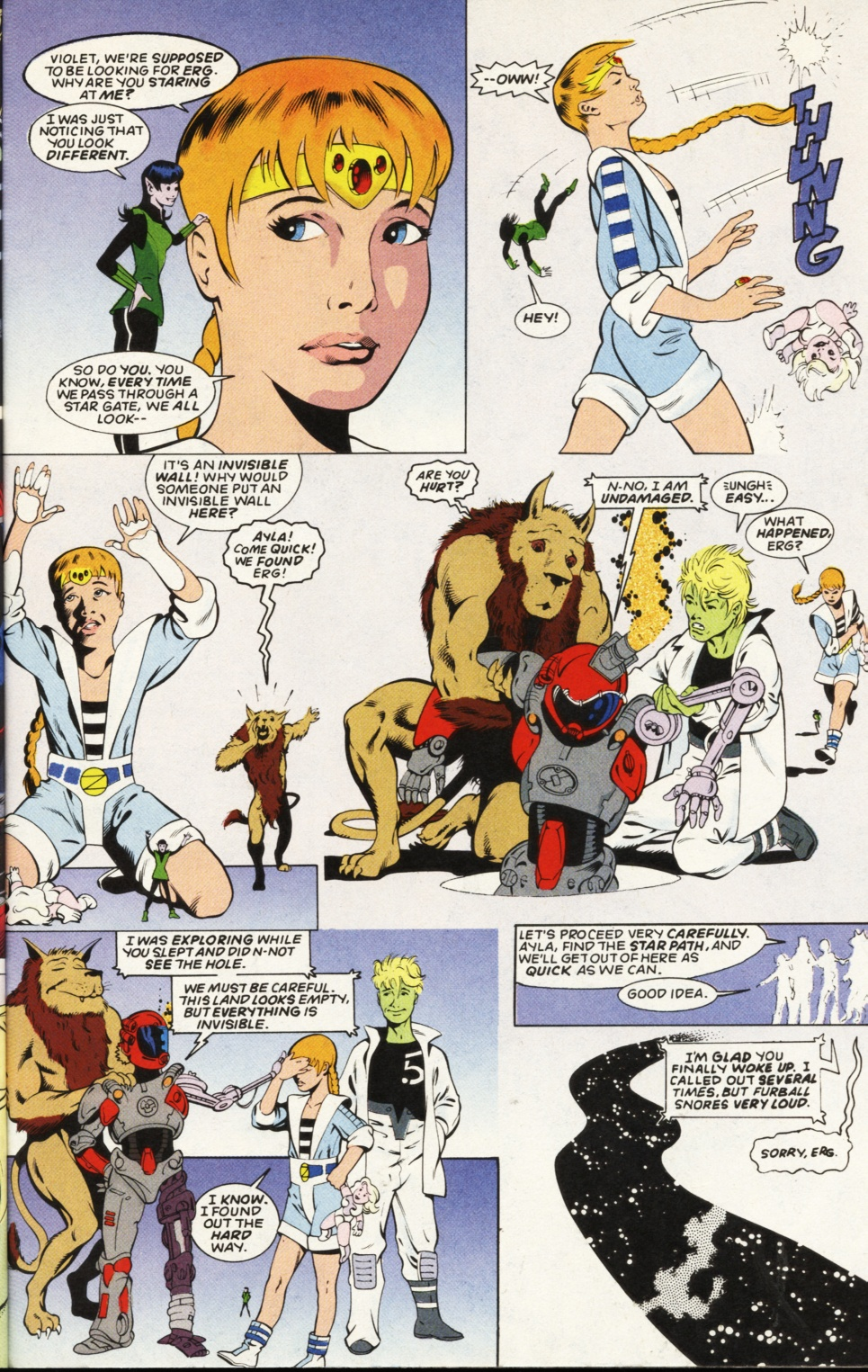 Legion of Super-Heroes (1989) _Annual_6 Page 28