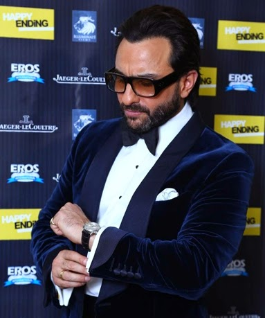 Saif Ali Khan & Ileana Dcruz at Happy Ending Premiere at Delhi