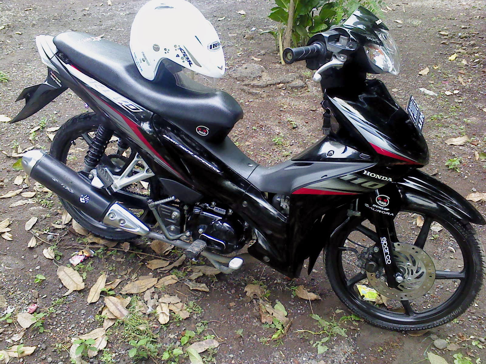 modifikasi motor revo fit terkeren