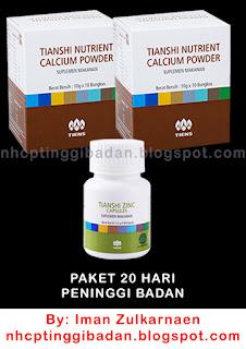 Harga Peninggi Badan Tiens Termurah Kalsium NHCP