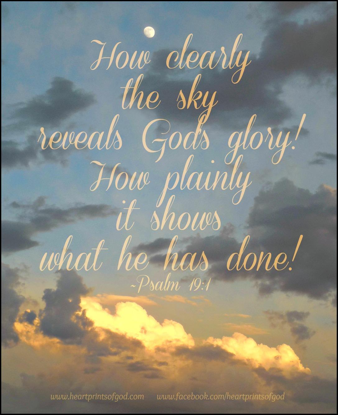 Heartprints Of God: July 2013