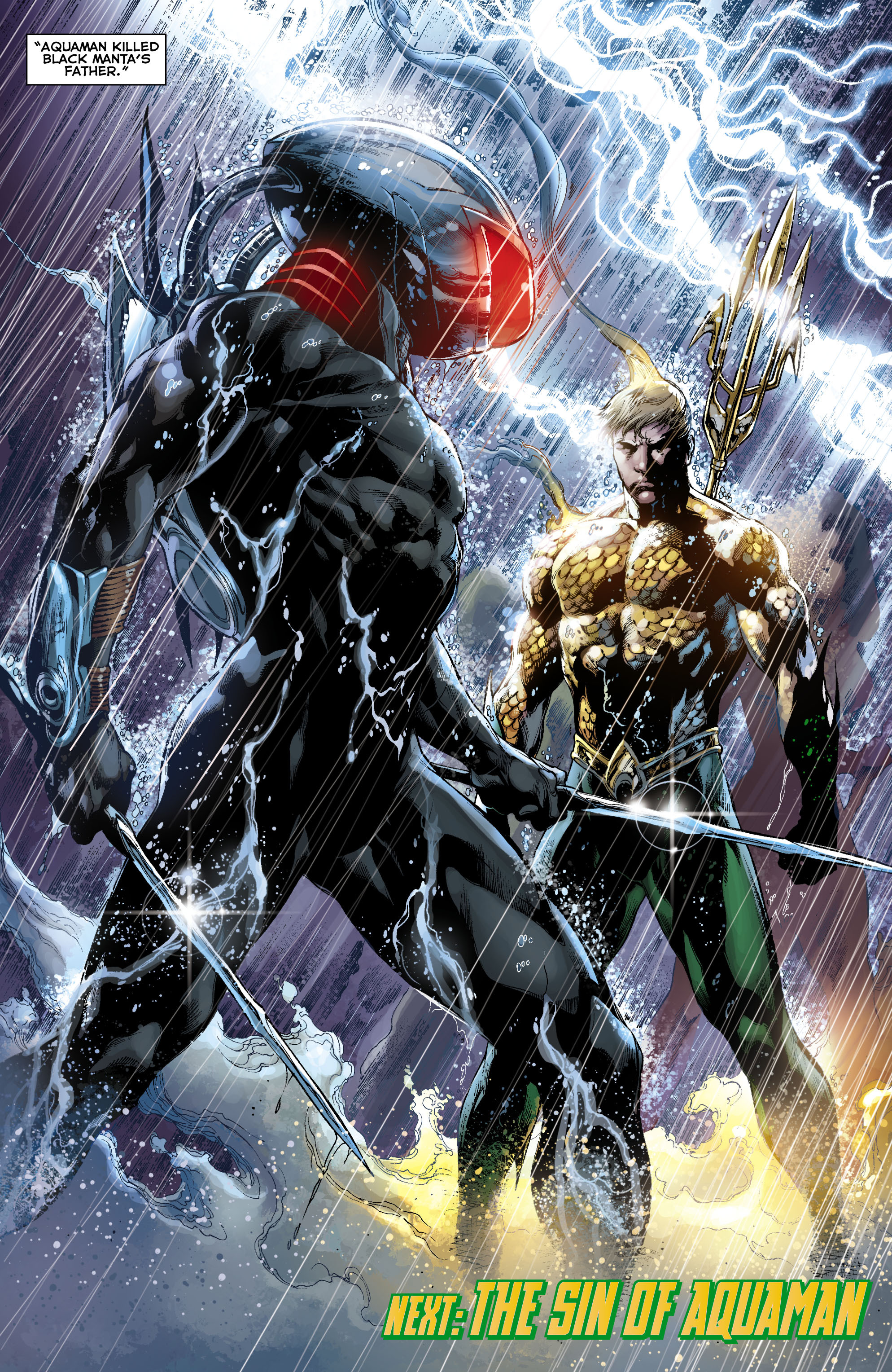 Read online Aquaman (2011) comic -  Issue #9 - 21