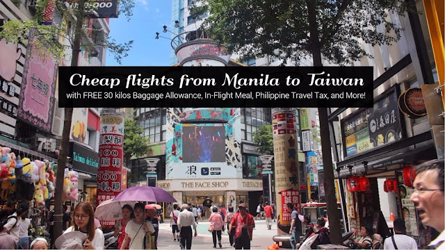 Cheap Flights to Taiwan from Manila Philippines