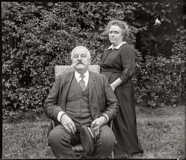 Jeanne et Gustave circa 1910