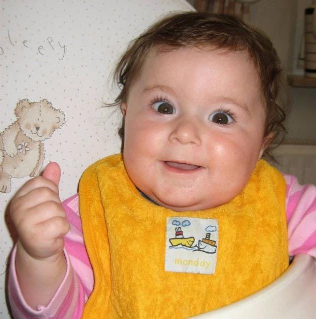 Babygebärde Milch