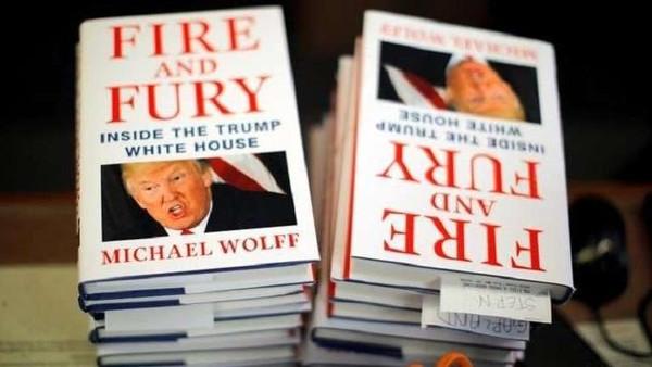 """جديد كتاب """"نار وغضب""""... عاصفة بسبب التفاصيل الكاذبة"""