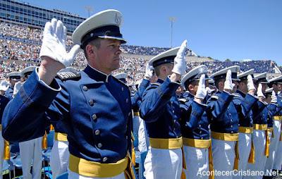 Juramento en la Academia de la Fuerza Aérea de Estados Unidos