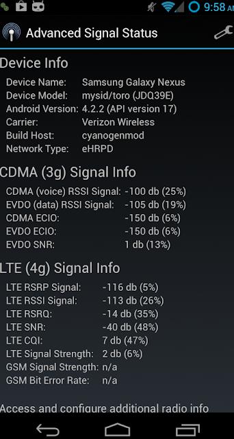 Cara Mengetahui Sinyal Jaringan Anda Di 2G, 3G, 4G, atau LTE 2