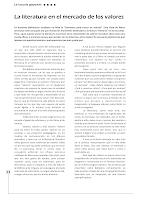 LA LITERATURA EN EL MERCADO