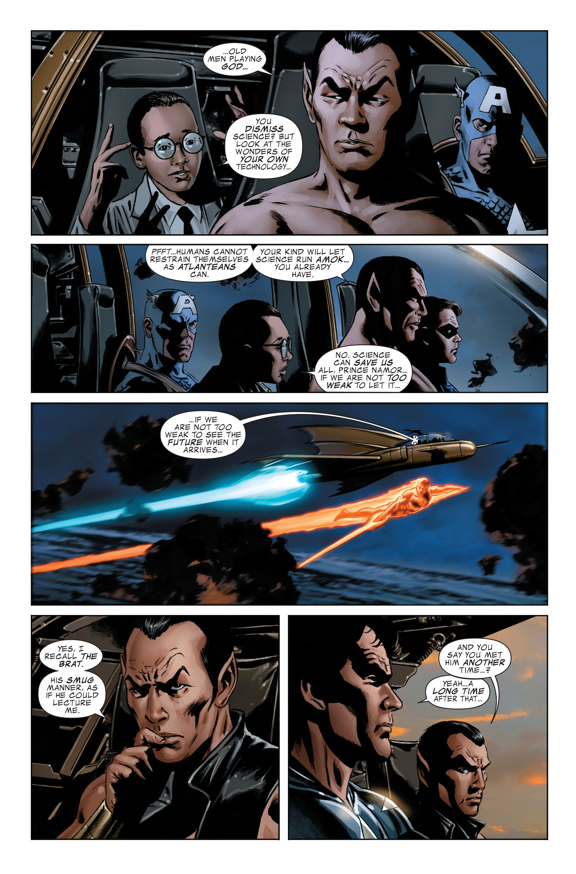 Read online Captain America (2005) comic -  Issue #46 - 10