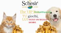 Logo ''Schesir - The Vip Box'': gioca gratis e ricevi omaggi sicuri (coupon e prodotti cane o gatto)