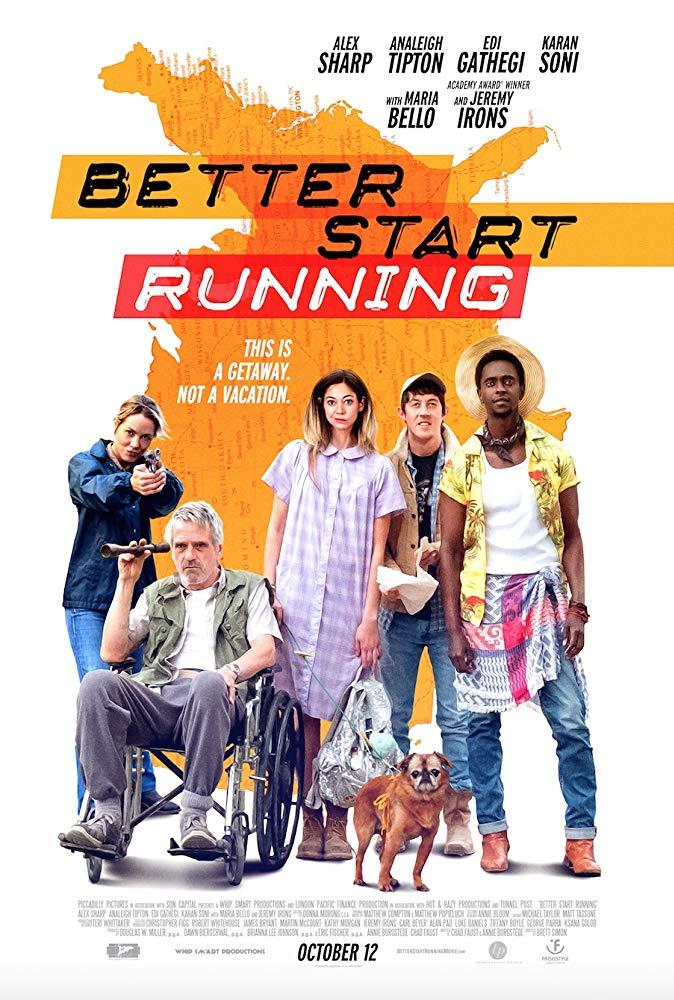 better start running poster
