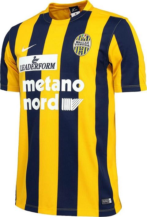 463197b475 Nike lança novas camisas do Hellas Verona - Show de Camisas
