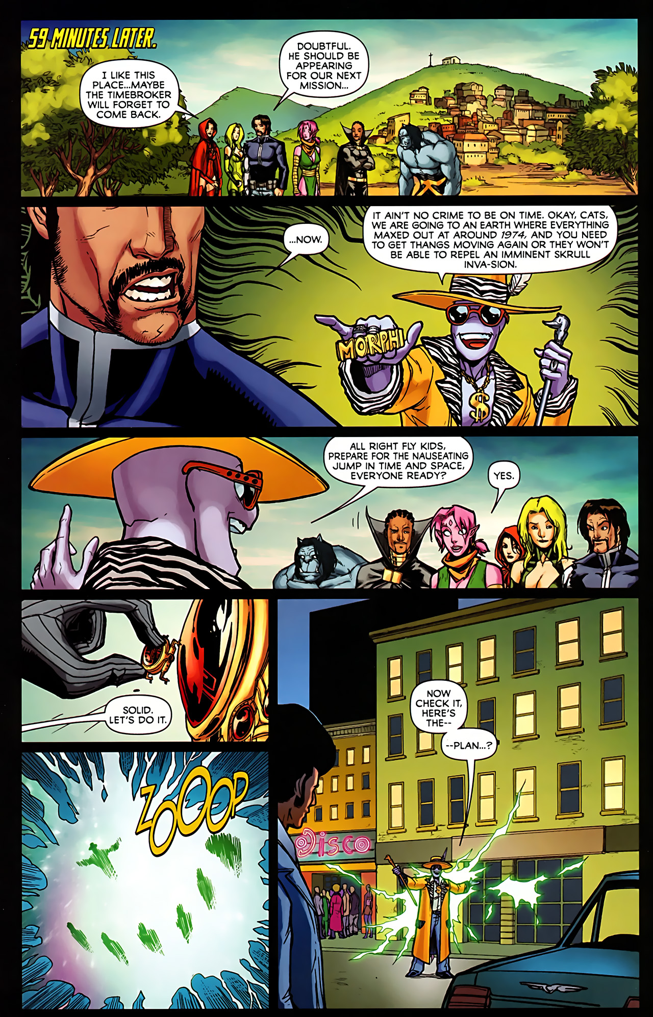 Read online Exiles (2009) comic -  Issue #6 - 18
