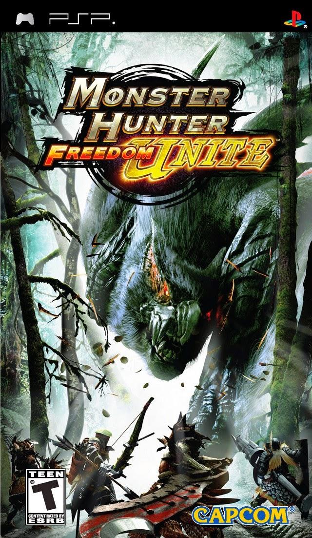 Monster Hunter Freedom Unite (USA) ISO PSP GAME ~ Psp Zoom