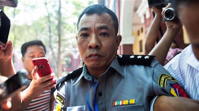 Myanmar court accepts whistleblower officer's testimony