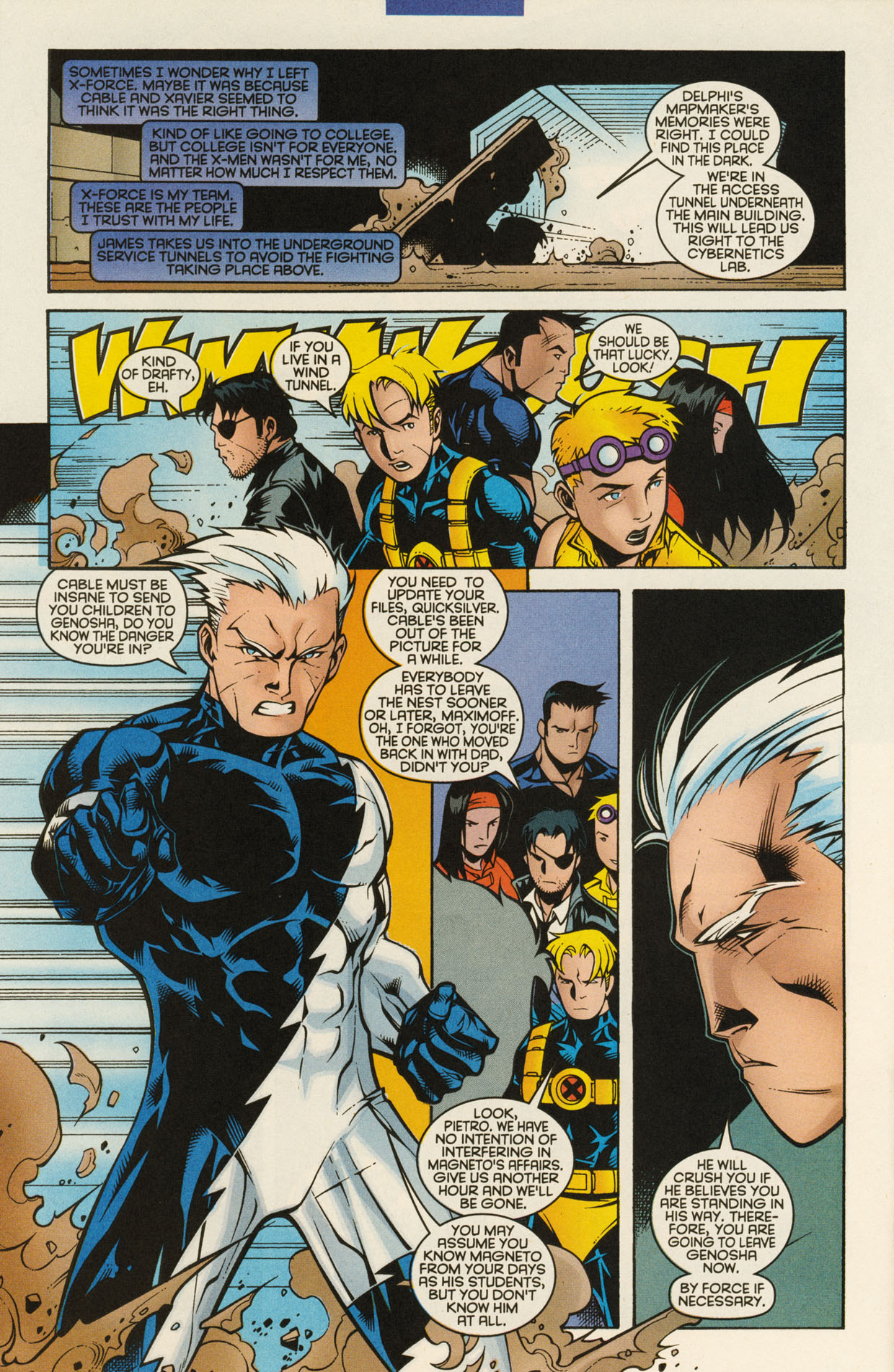 Read online X-Force (1991) comic -  Issue #94 - 28