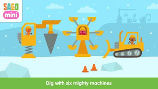 Sago Mini Holiday Trucks and Diggers Apk
