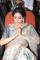 Sri Devi in designer saree stunning beauty at the launch of MOM movie Trailer~  Exclusive 136.JPG